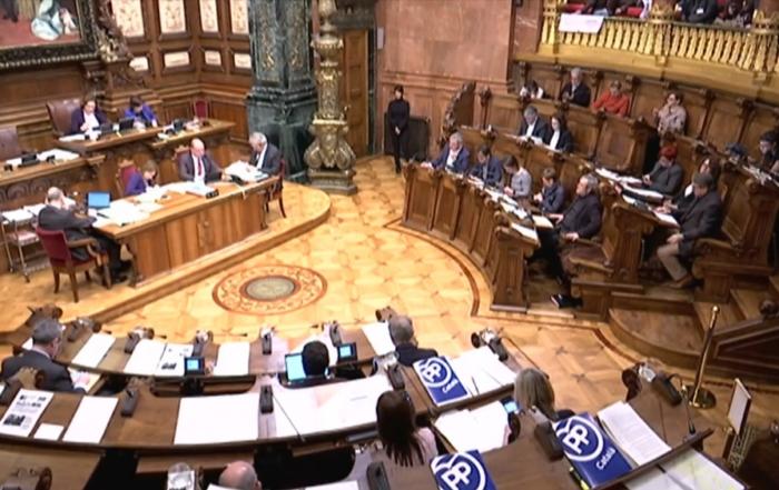 Plenari Ajuntament Barcelona