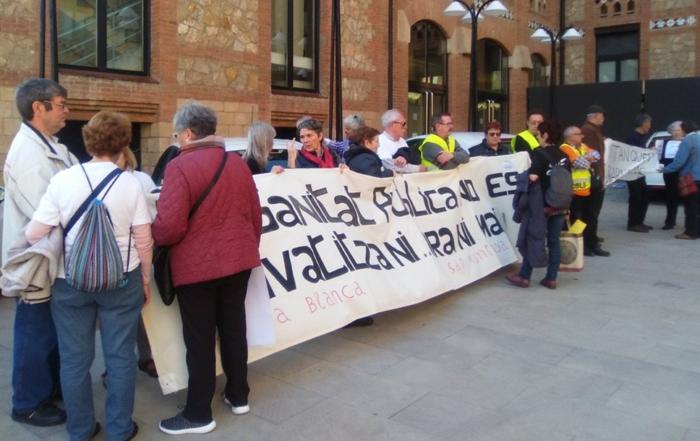 Protesta catsalut