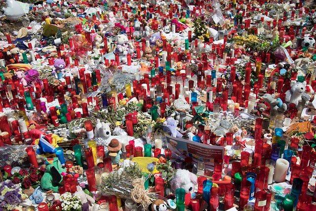 Memorial espelmes Rambla